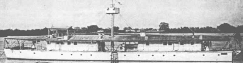 Канонерская лодка «Myтho»