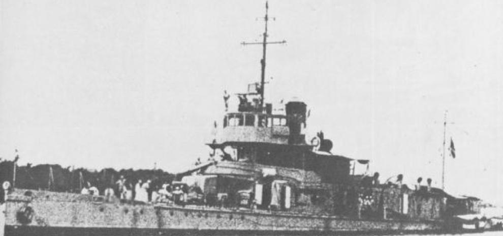 Канонерская лодка «Suma» (Moth)