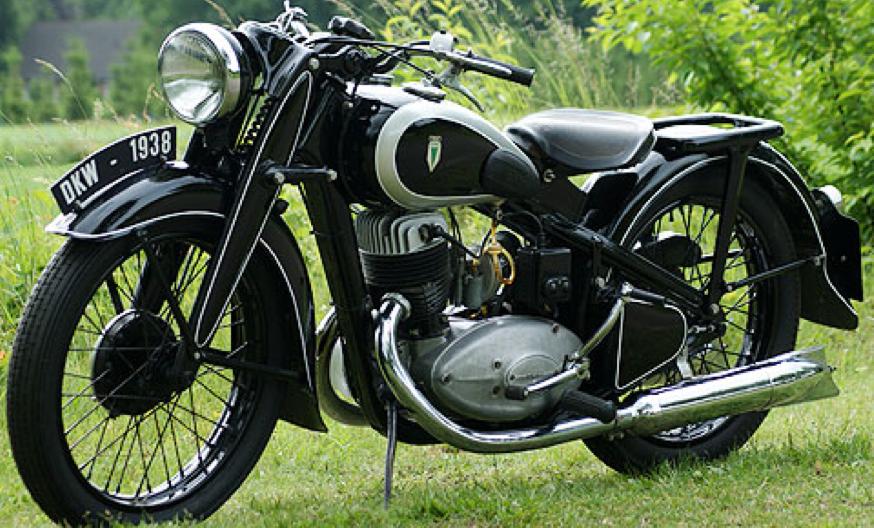 Мотоцикл DKW NZ-350