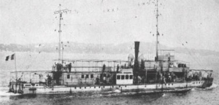 Канонерская лодка «Argus»