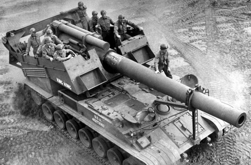 САУ 240-mm Т-92
