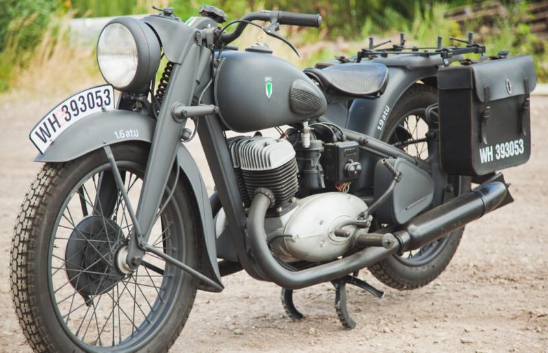 Мотоцикл DKW NZ-500
