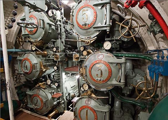 Торпедный отсек лодки «Д-2»