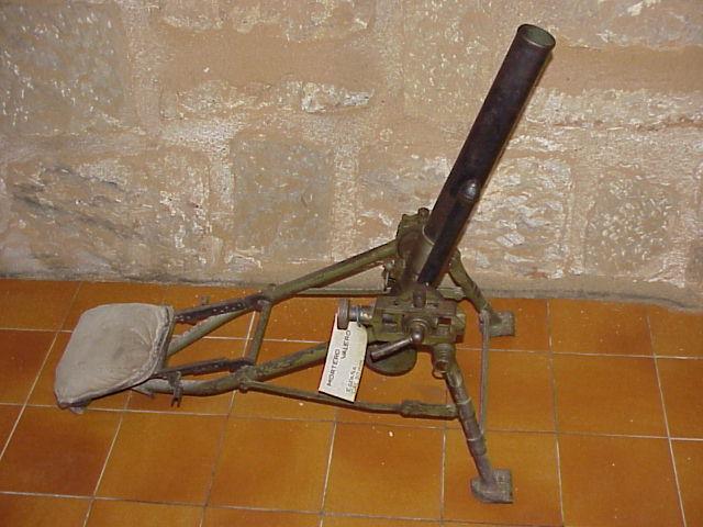 Миномет Valero de 50-mm.  Модель 1941 г.