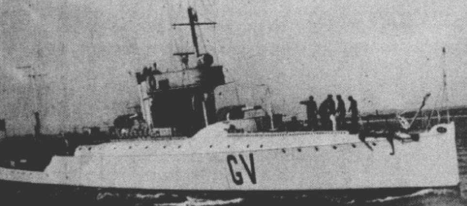 Эскортная канонерская лодка «Ernesto Giovannini»