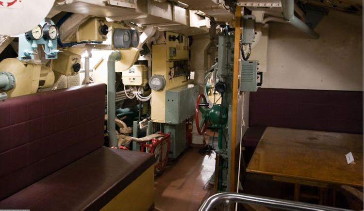 Кают-компания лодки «Д-2»