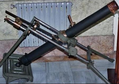 Миномет 81-мм Valero Modelo 1933