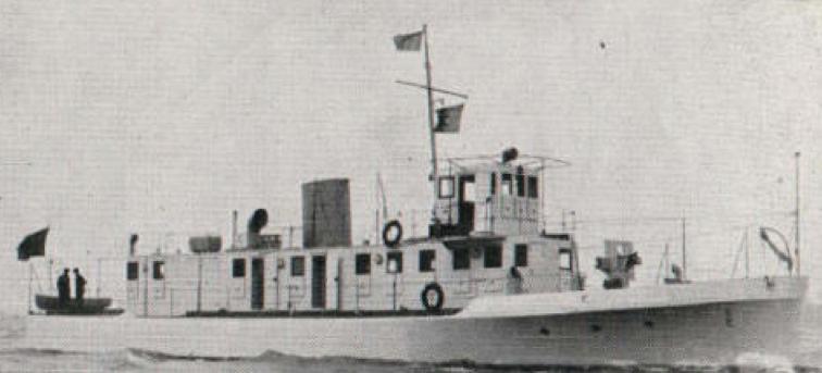 Речная канонерская лодка  типа «Thornycroft» №1