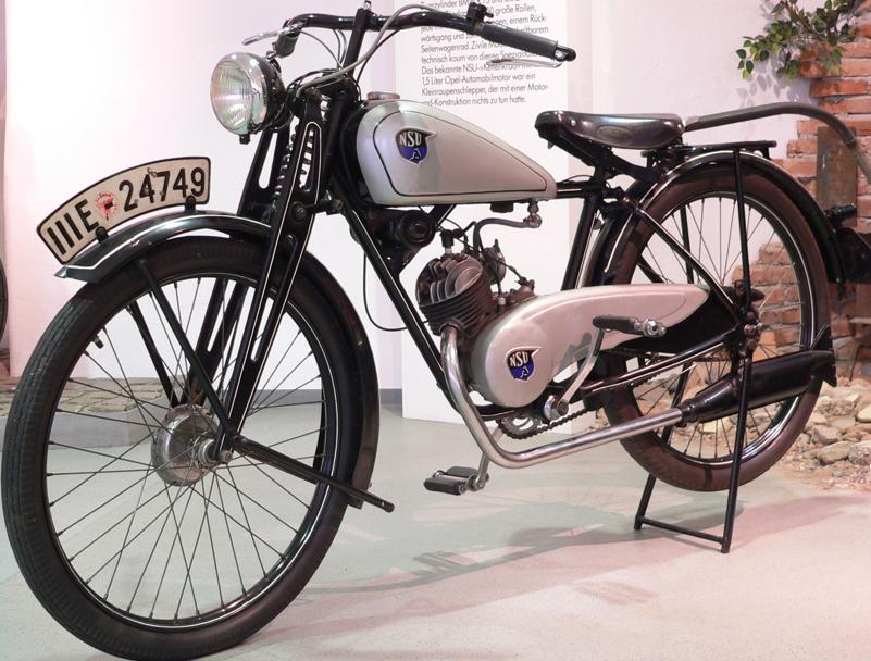 Мотоцикл NSU-Quick