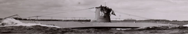 Подводная лодка «U-16»