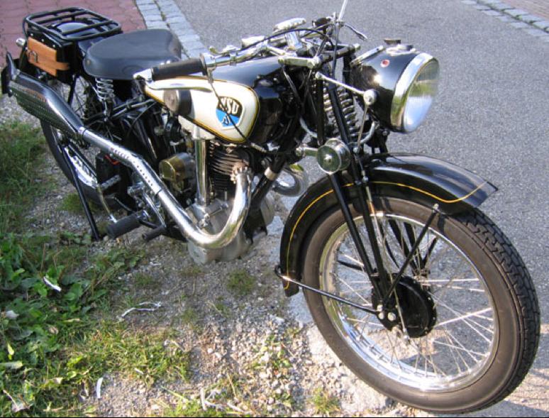 Мотоцикл NSU 201- OSL