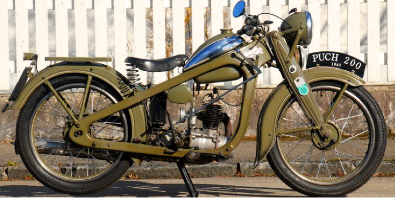 Мотоцикл  Puch-200