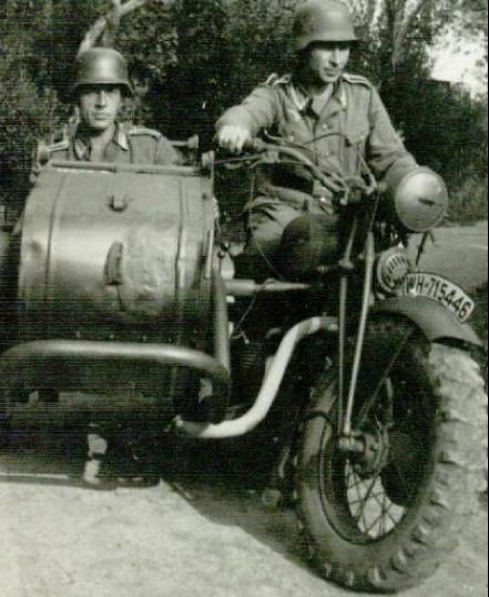 Мотоцикл FN-12a SM