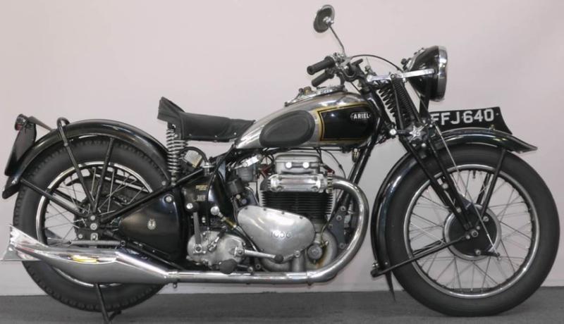 Мотоцикл Ariel Square Four 4-G 1000