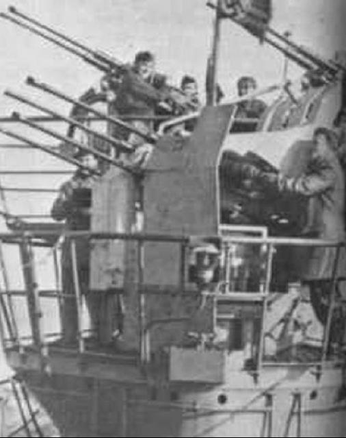 Подводная лодка «U-441» (Tип VII-C U-Flack)