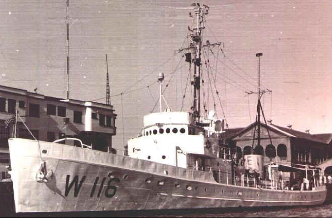 Корабль береговой охраны WPC-116 «Triton»