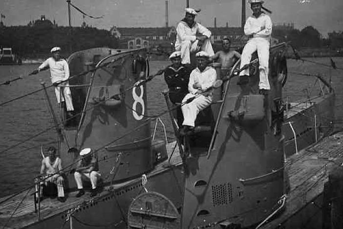 Подводная лодка «U-8» и «U-9»