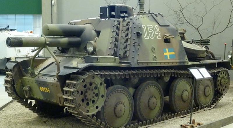 САУ Stormartillerivagn m/43 (Sav m/43)