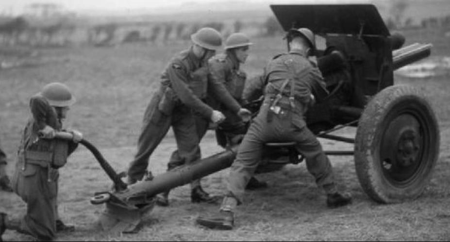 Полева пушка  75-mm Gun M-1917
