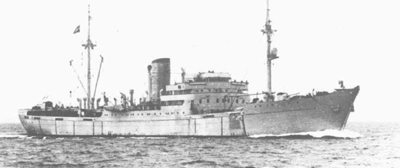 Вспомогательный крейсер «Stier» (HSK-6)