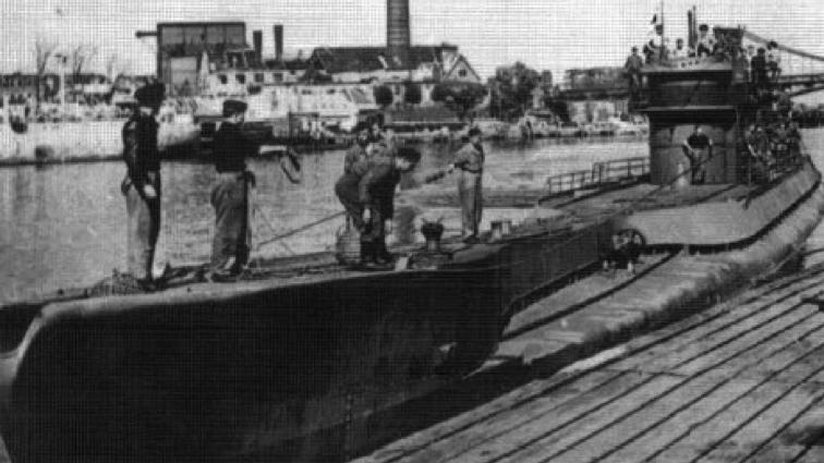 Подводная лодка «U-883»