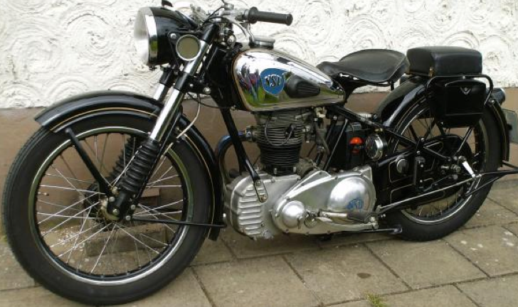 Мотоцикл NSU 351-OT
