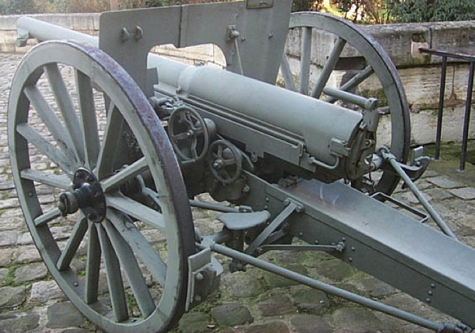 Полевая пушка  Canon de 75 modèle 1897