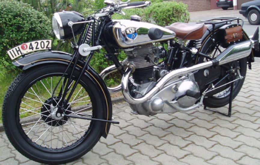 Мотоцикл NSU 351-OSL