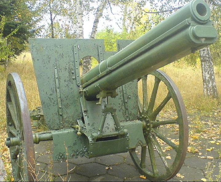 Полевая пушка Canon de 75 modèle 1905 Schneider