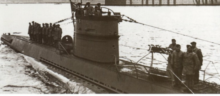 Подводная лодка «U-143»