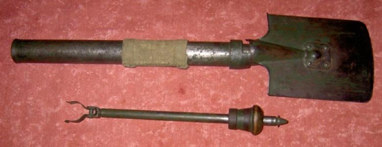 37-мм миномет-лопата  Дьяконова.  Образец 1938 г.