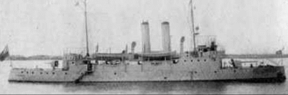 Канонерская лодка «Kiang Yuan»