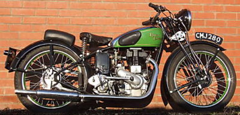 Мотоцикл Royal Enfield D Model SF