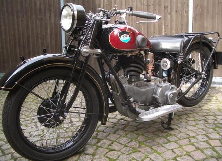 Мотоцикл NSU 501-TS