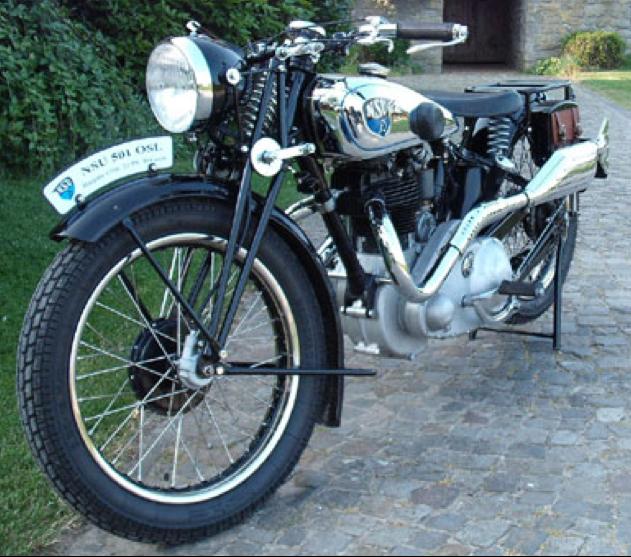 Мотоцикл NSU 501-OSL