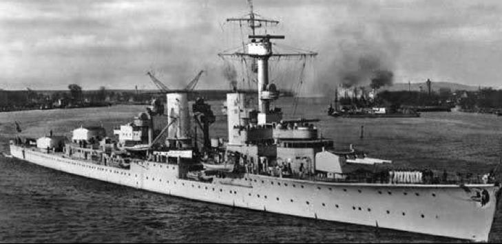 Учебно-артиллерийский корабль «Bremse»