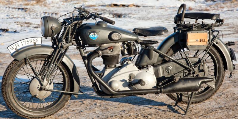 Мотоцикл NSU-601 OSL