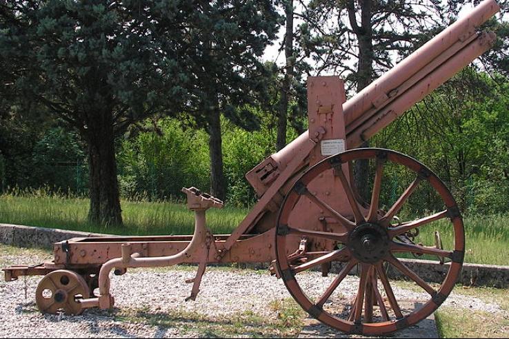 Полевая пушка 8-cm Feldkanone  M-5