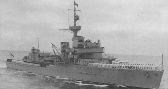 Учебно-артиллерийский корабль «Brummer»