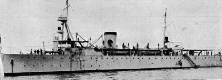 Канонерская лодка «Cuba»