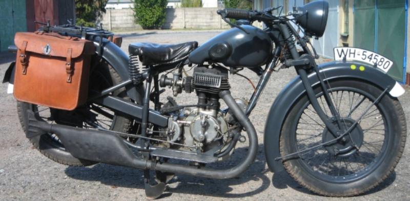 Мотоцикл NSU 601-TS