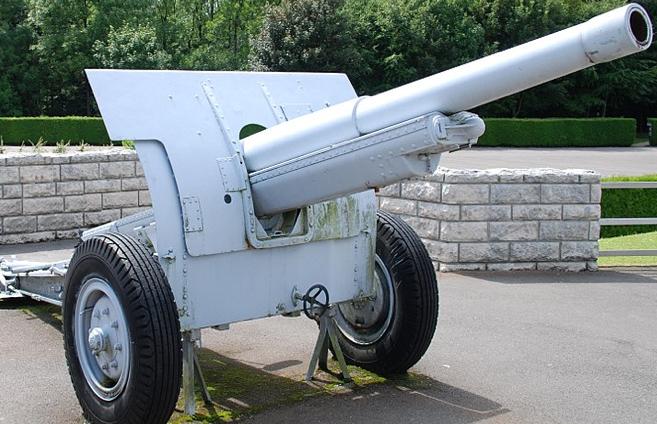 105-мм пушка 105 mle 1913 Schneider