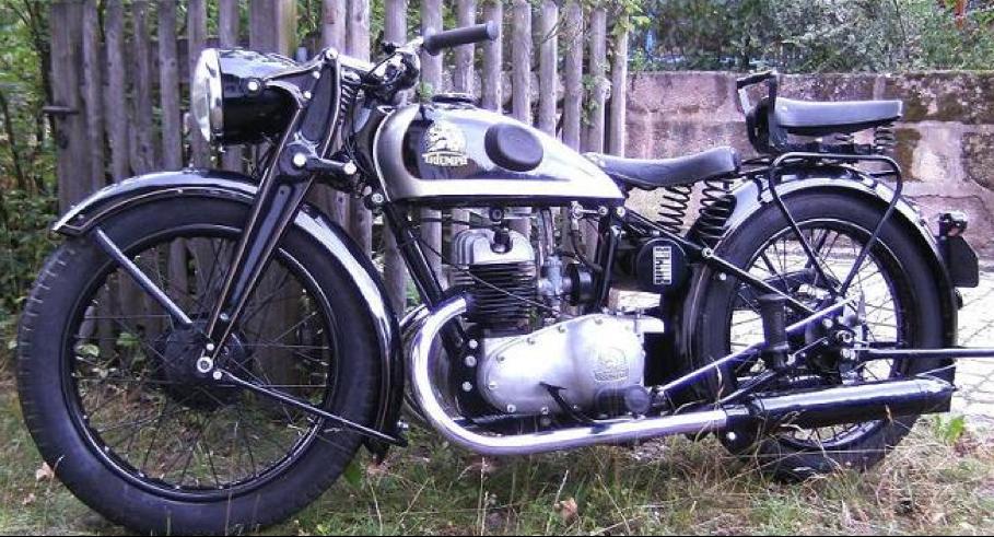 Мотоцикл Triumph B-204