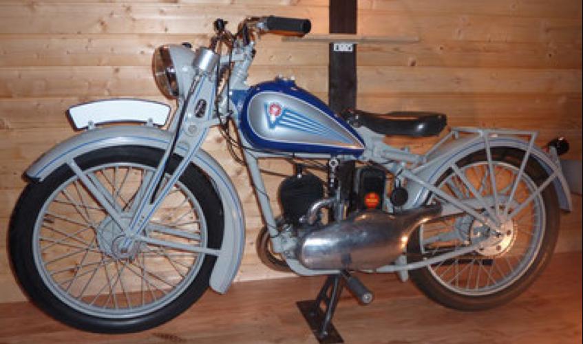 Мотоцикл Viktoria KR-15