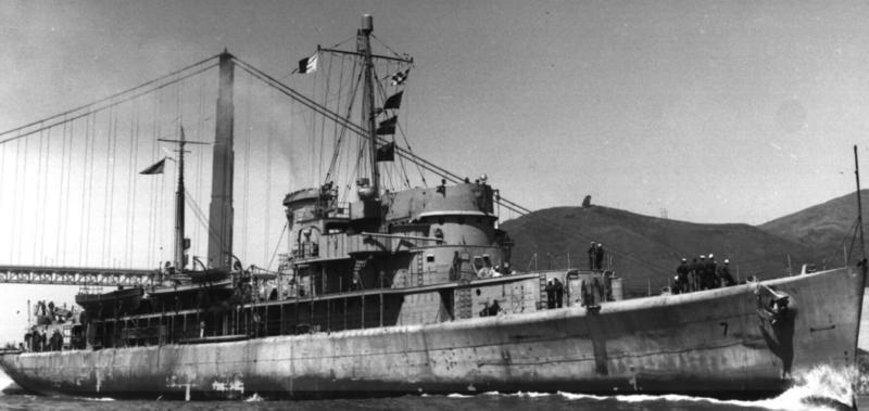 Плавбаза торпедных катеров «Mobjack» (AGP-7)