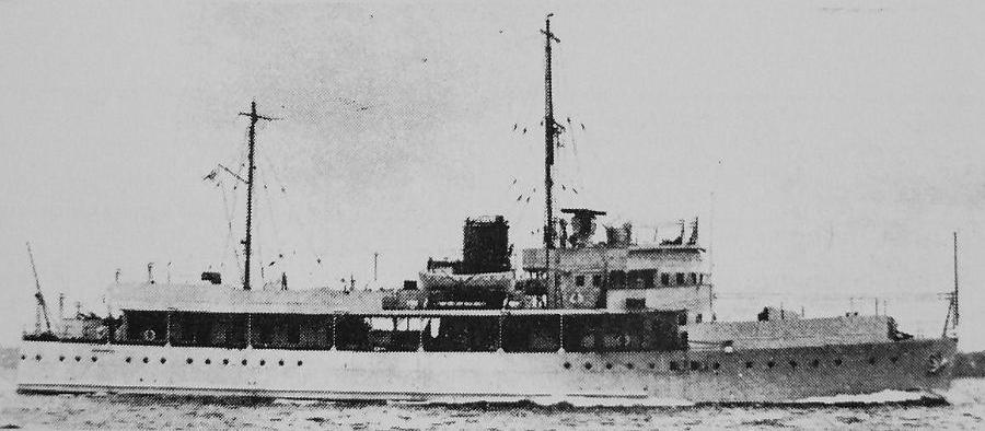 Канонерская лодка «Dragonfly»