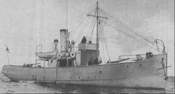 Канонерская лодка «Ahti» (Эмбах)