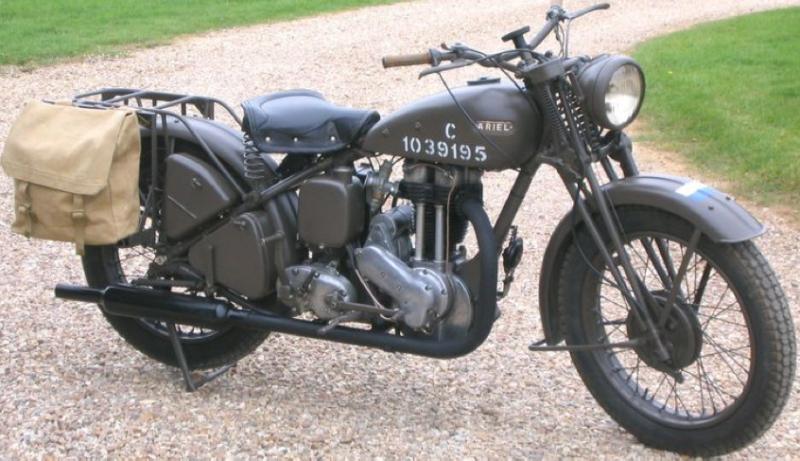 Мотоцикл Ariel W/NG 350