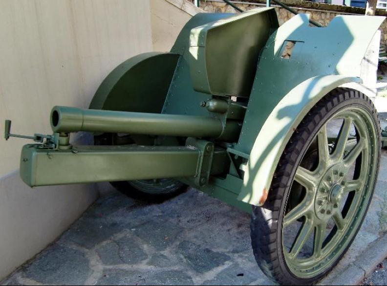 Полевая пушка 75-mm Canonne da 75/27  modello 11