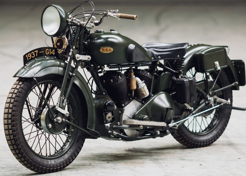 Мотоцикл BSA G-14